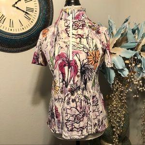 Kerrits Short sleeve quarter zip pullover